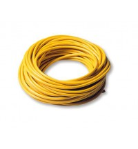 Mastervolt Yellow moulded shore cable, 3x 2.5 mm2, 25 meter