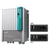 Mastervolt Mass Combi 24/1800-35 including ICC & APC remote panels  (product code 36021800 + 70405000 + 70405010)