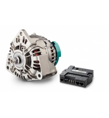Alpha Compact 28/150 w zestawie z Alpha III Pro ( regulator ładowania)