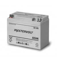 Mastervolt AGM Battery - AGM 12/55