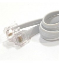Mastervolt 10 meter modular cable, 6 wire, crossed, RJ12 connectors