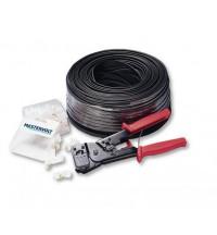 Mastervolt Complete set: 100 mtr modular cable, tool & RJ12 connectors
